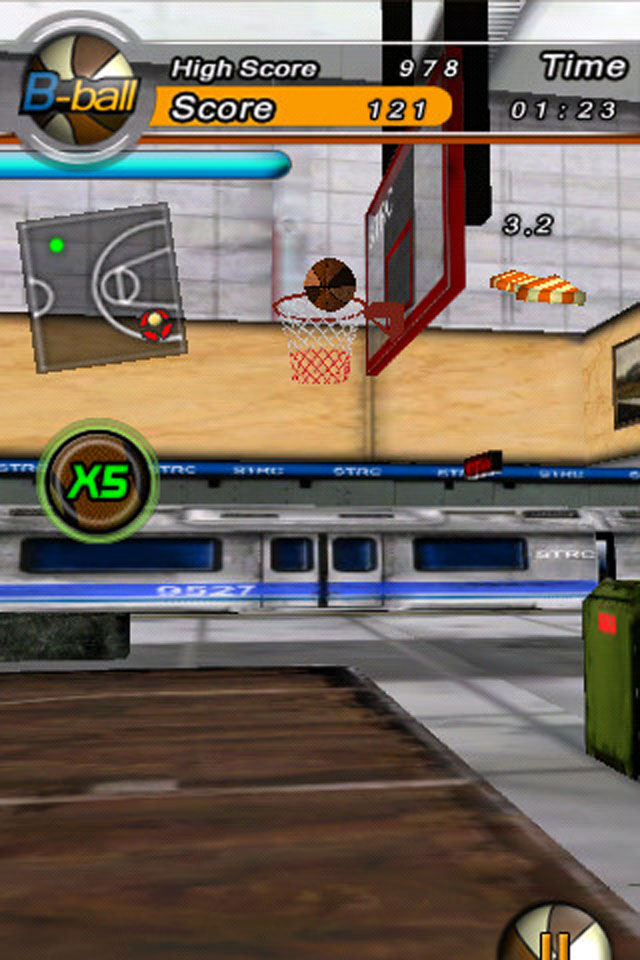 Screenshot B-Ball Fire
