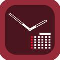 顔時計 - カレンダー付き